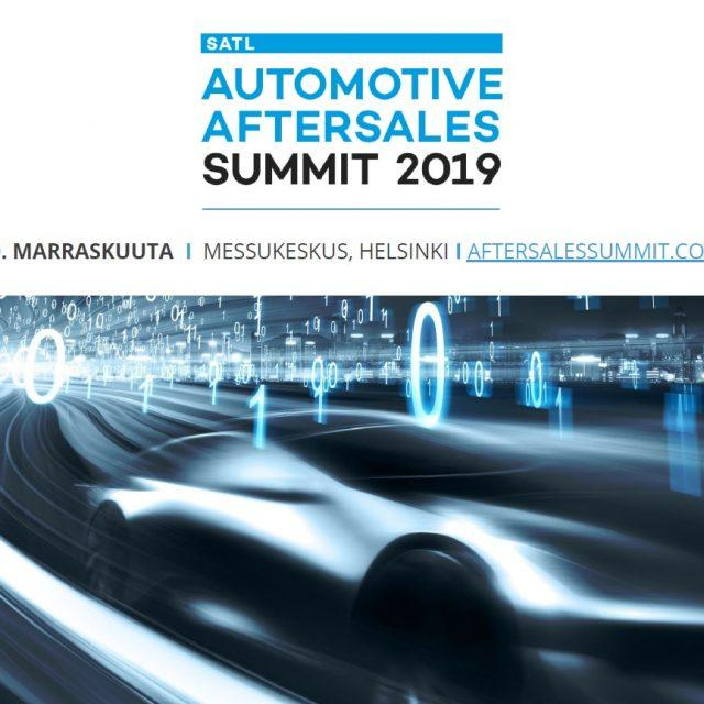 SATL Automotive Aftersales Summit 2019, Helsinki
